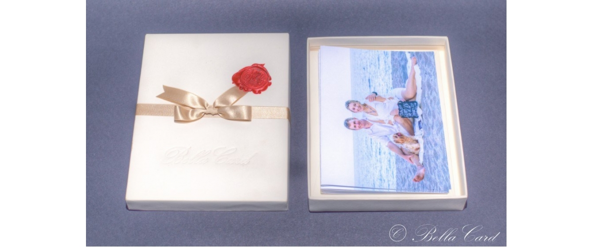 The expression greeting card by bellacard a set of 5 cards using your image in the elite box m4hsunfo